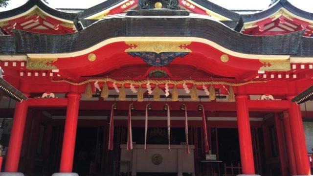 京浜伏見稲荷神社の本殿