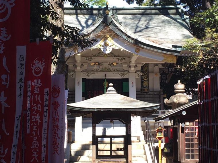 赤坂・豊川稲荷の奥の院