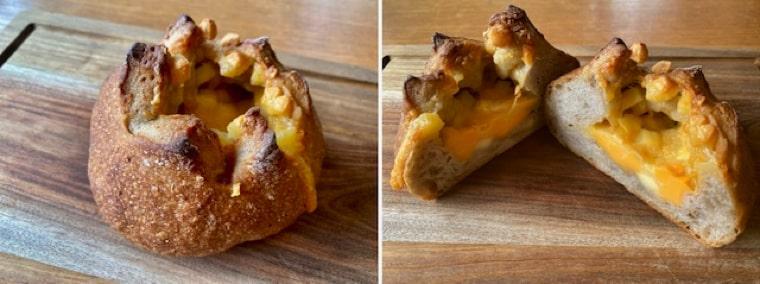 チーズとそば粉の田舎パン